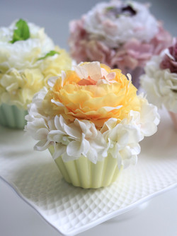 Flower cake マンゴークリーム