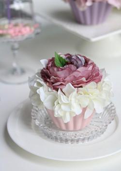 Flower cake ラズベリークリーム