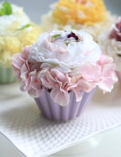 Flower cake バイオレットクリーム