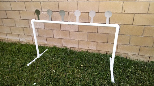 5 Plate Shooting Rack