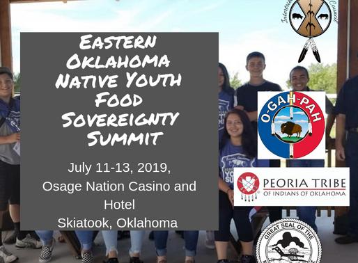 2019 Eastern Oklahoma Native Youth Food Sovereignty Summit
