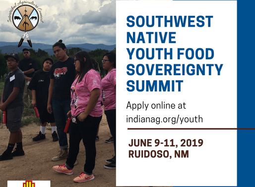 2019 Southwest Native Youth Food Sovereignty Summit