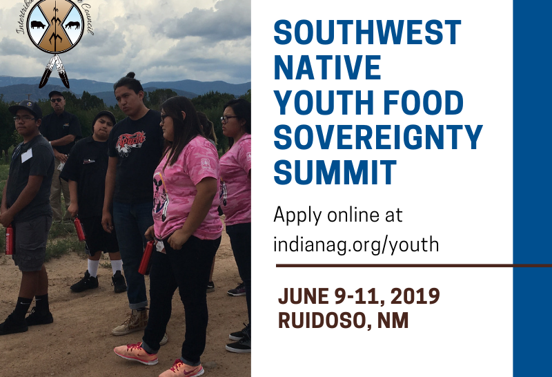 2019 Southwest Native Youth Food Sovereignty Summit