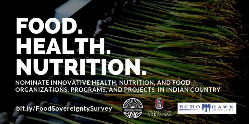 Indian Country Innovators in Food, Health, and Nutrition