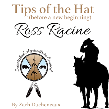 Tips of the Hat Before a New Beginning: Ross Racine
