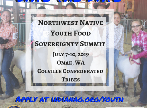 2019 Northwest Native Youth Food Sovereignty Summit