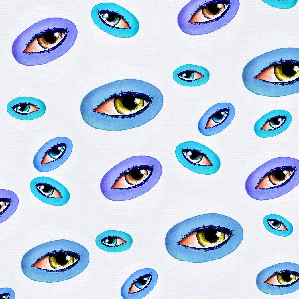eyepatternblue