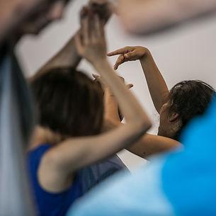 contact dancers, dance performance, impr