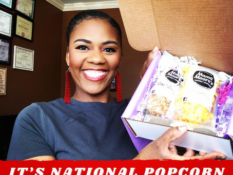 National Popcorn Day is Tuesday, January 19!!