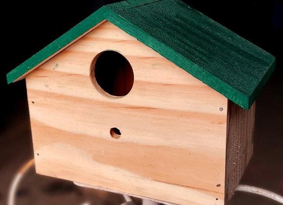 HnS Bird House for Sparrow, Robin and Other Small size Garden Birds