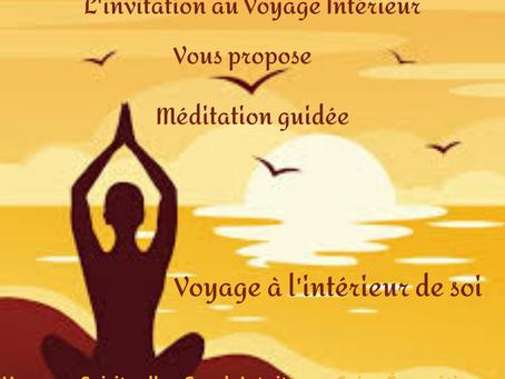 """Méditation guidée """"Voyage à l'intérieur de Soi"""""""