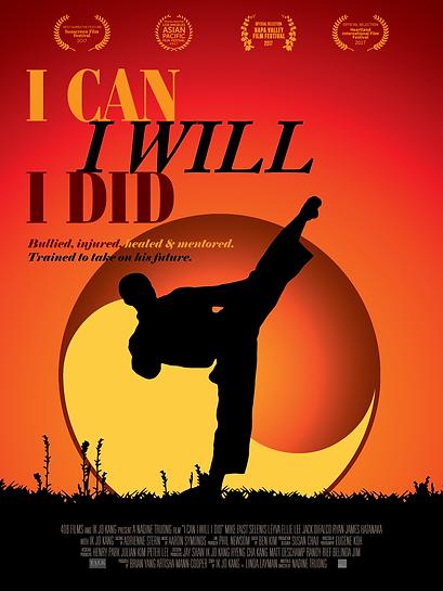 Kick Final Artwork - I CAN I WILL I DID.
