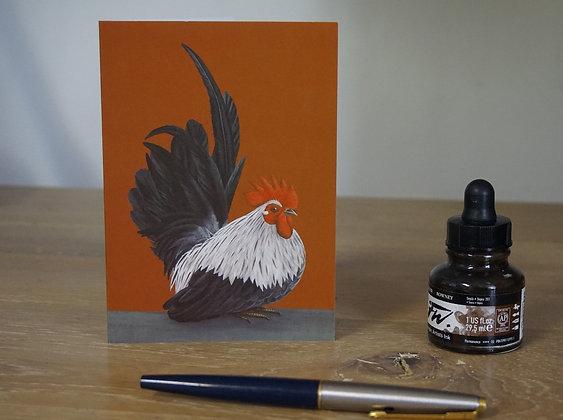 Japanese Bantam Cockerel