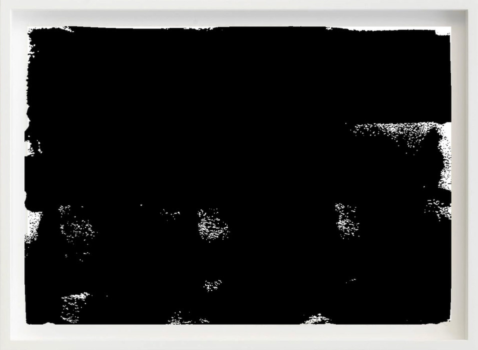Black, 2017 sketch paper, ink, sofa 297mm x 21mm