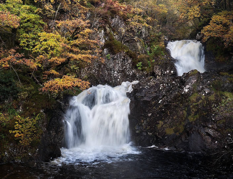 Eas Chia-aig Waterfalls