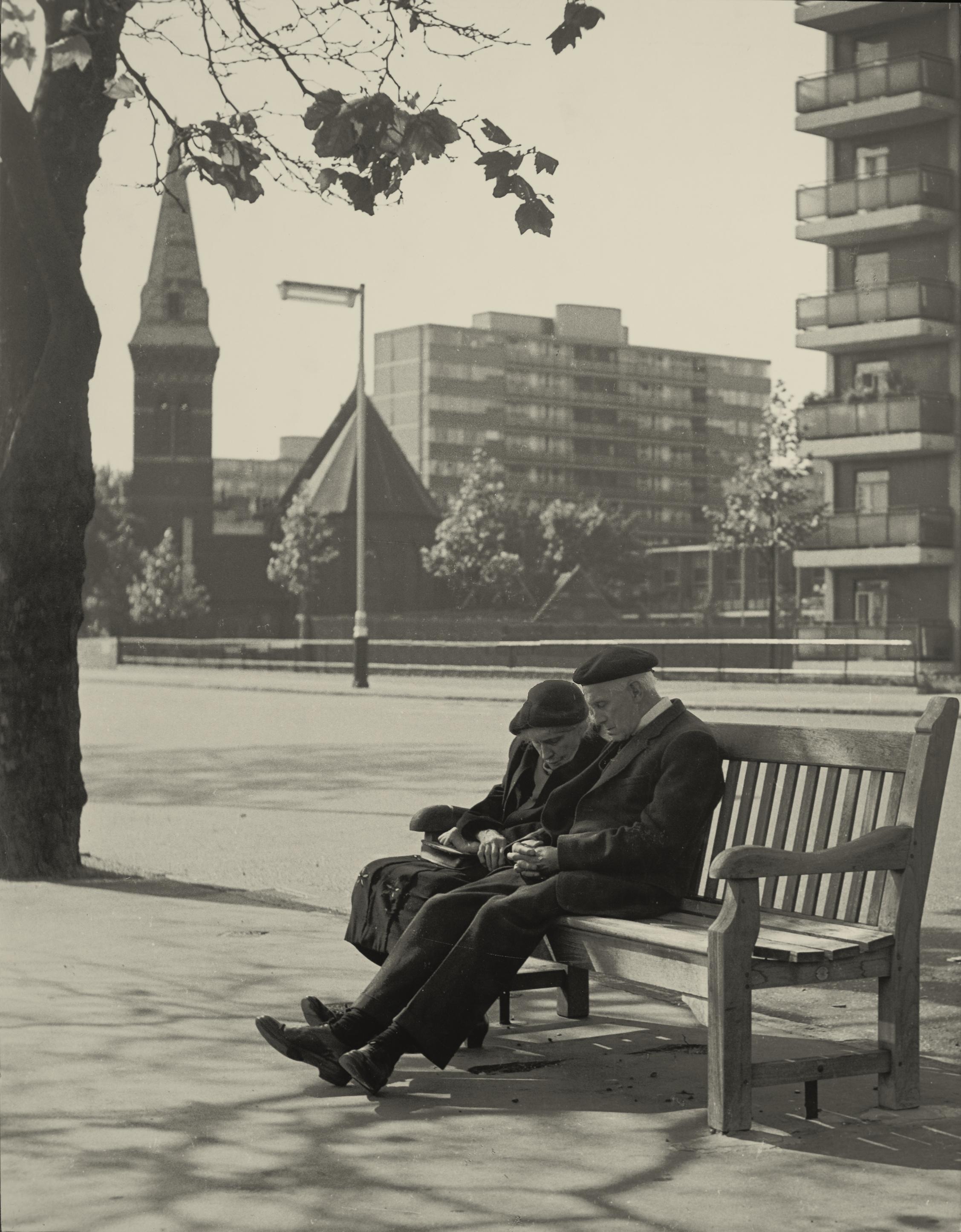 Embankment Couple 1964