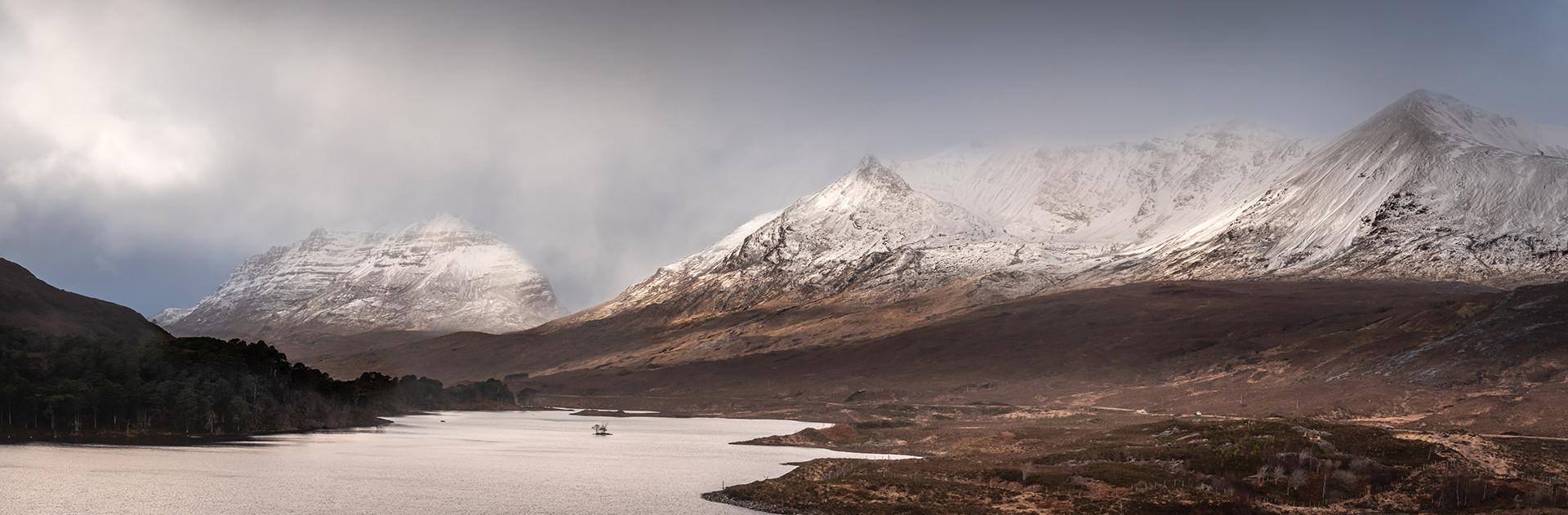 Across Loch Clair - Andrew Daw
