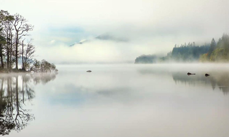 Morning Mist, Loch Eck - Isabella Hillhouse