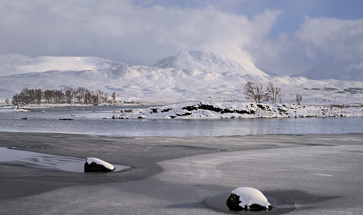 By Loch Ba - David Fiddes