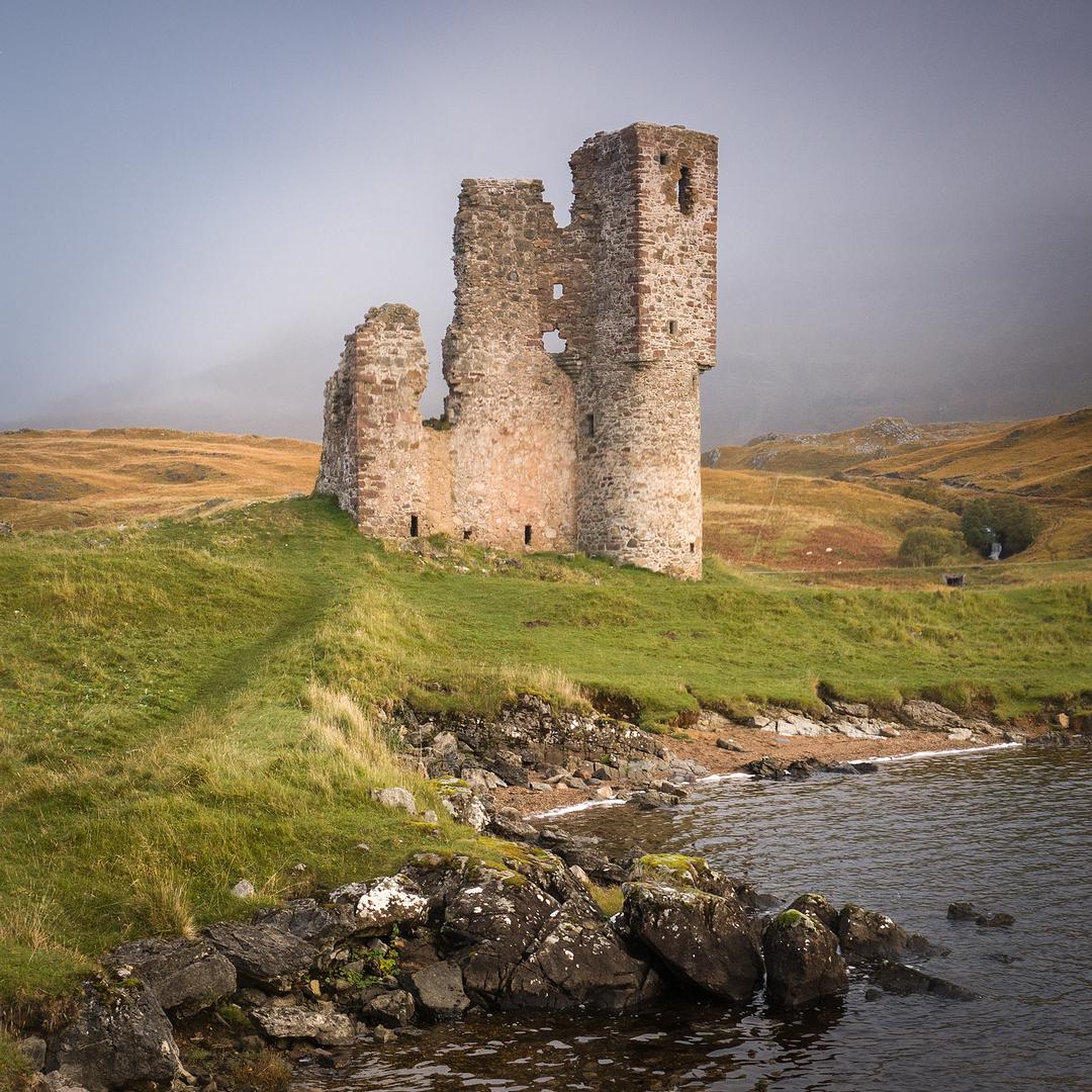 Ardvrek Castle