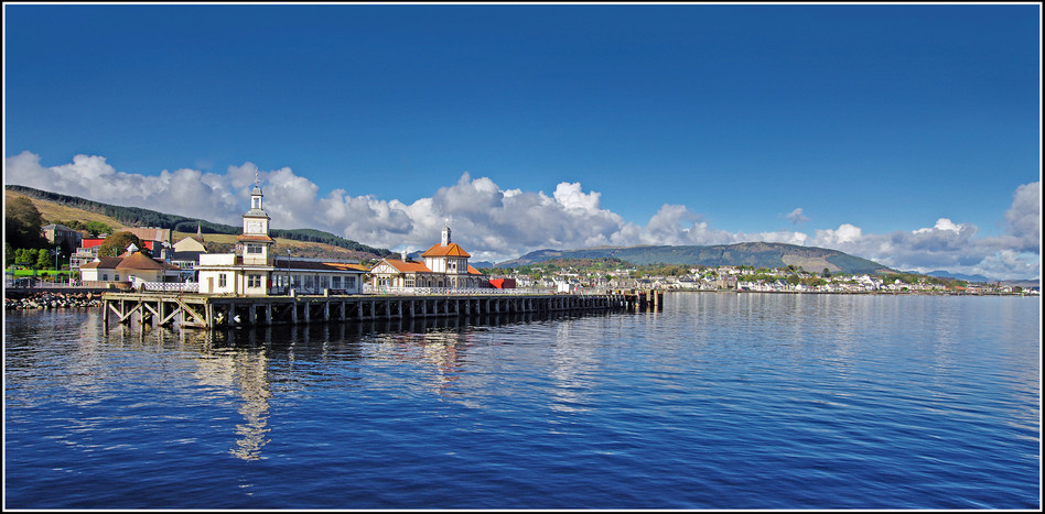 Dunoon from the Breakwater
