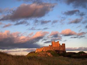 Bamburgh Castle Evening Light