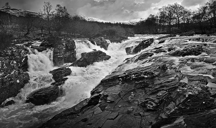 Orchy Falls - David Fiddes
