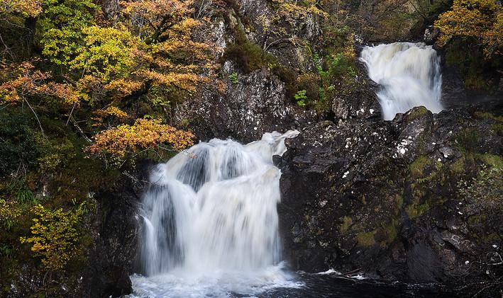 Eas Chia-aig Waterfalls - Lorraine Parramore
