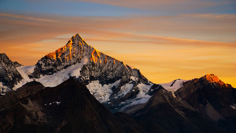 Sunrise, Weisshorn