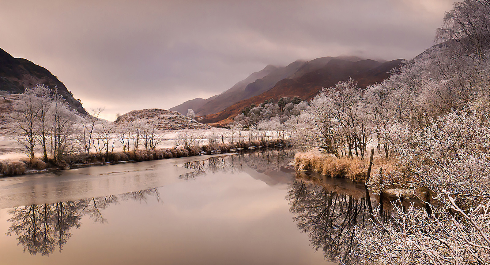 Callop River in Winter