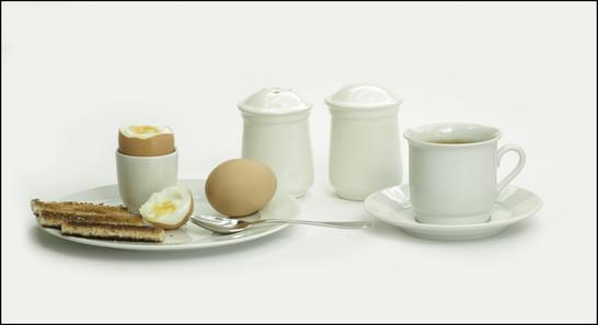 Breakfast is ready