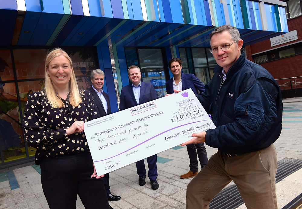 Louise Mc Cathie (Dir of Fundraising), Steve Allen (GBCC President), Paul Faulkner (GBCC CEO), Joe Robinson (Investment Manager at RCL), Martyn Richardson