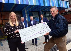Richardson family support for Birmingham Women's Hospital pregnancy and baby loss centre