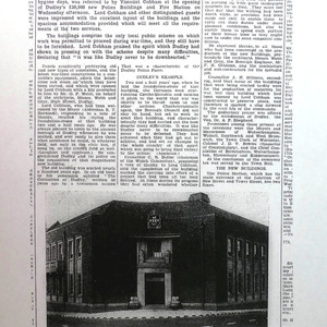 Herald article of opening October 1941 (Dudley Archives)