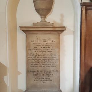 Memorial to George Bradley
