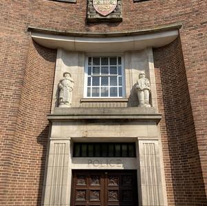 Dudley Police Station entrance