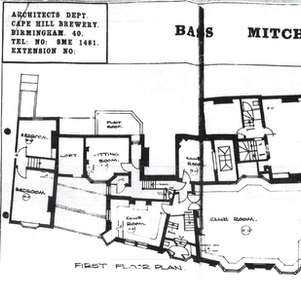 Plans below show the layout in 1969