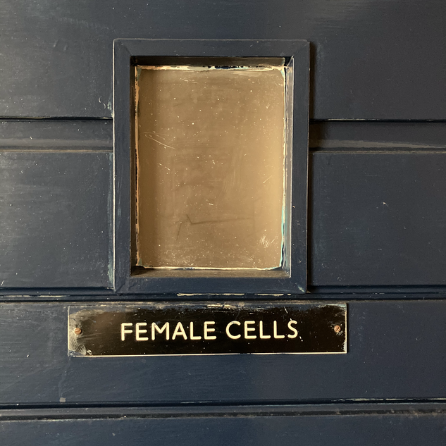 Female cell door