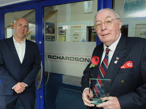 Black Country Chamber honours Dr Roy Richardson with lifetime achievement award