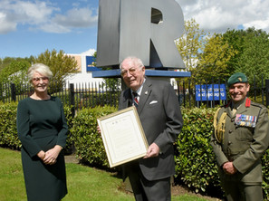 H.M. Armed Forces commend 'leadership, inspiration and support' of the Richardson family