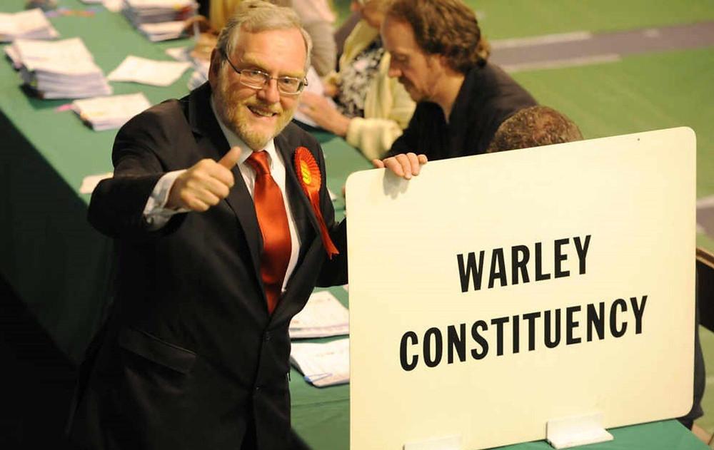 John Spellar, MP for Warley