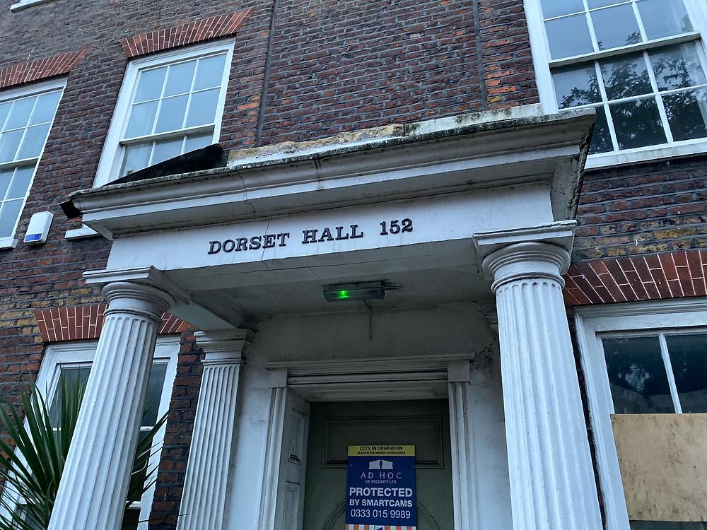 Dorset Hall today (source: author Barbara Gorna)