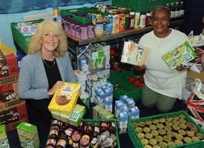 Richardson family donation helps Erdington food bank