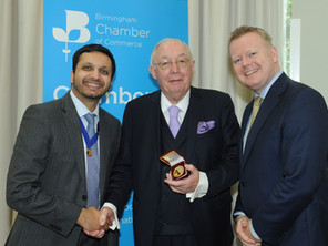 'Titan' of Midlands business honoured by Chamber