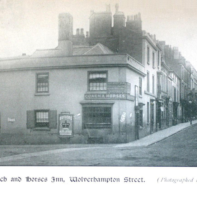 Former Coach & Horses Inn 1895