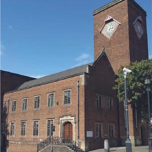 Exterior of Dudley Coroner's Court present day