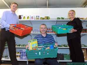 Richardson family donation supports Coronavirus food appeal