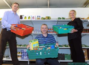 Richardson family donation supports Coronavirus food appeal