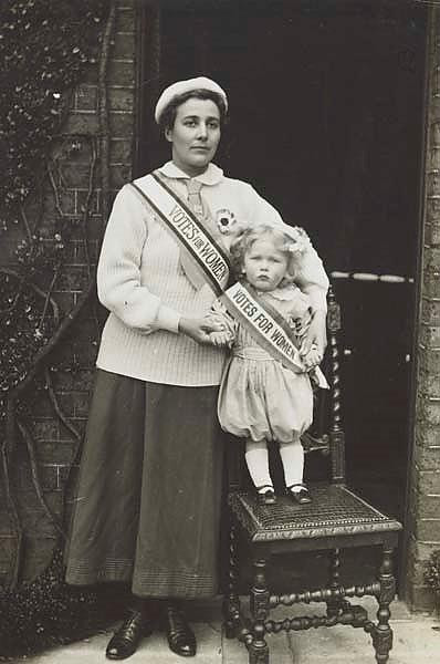 Rose with son Paul (source: Museum of London)