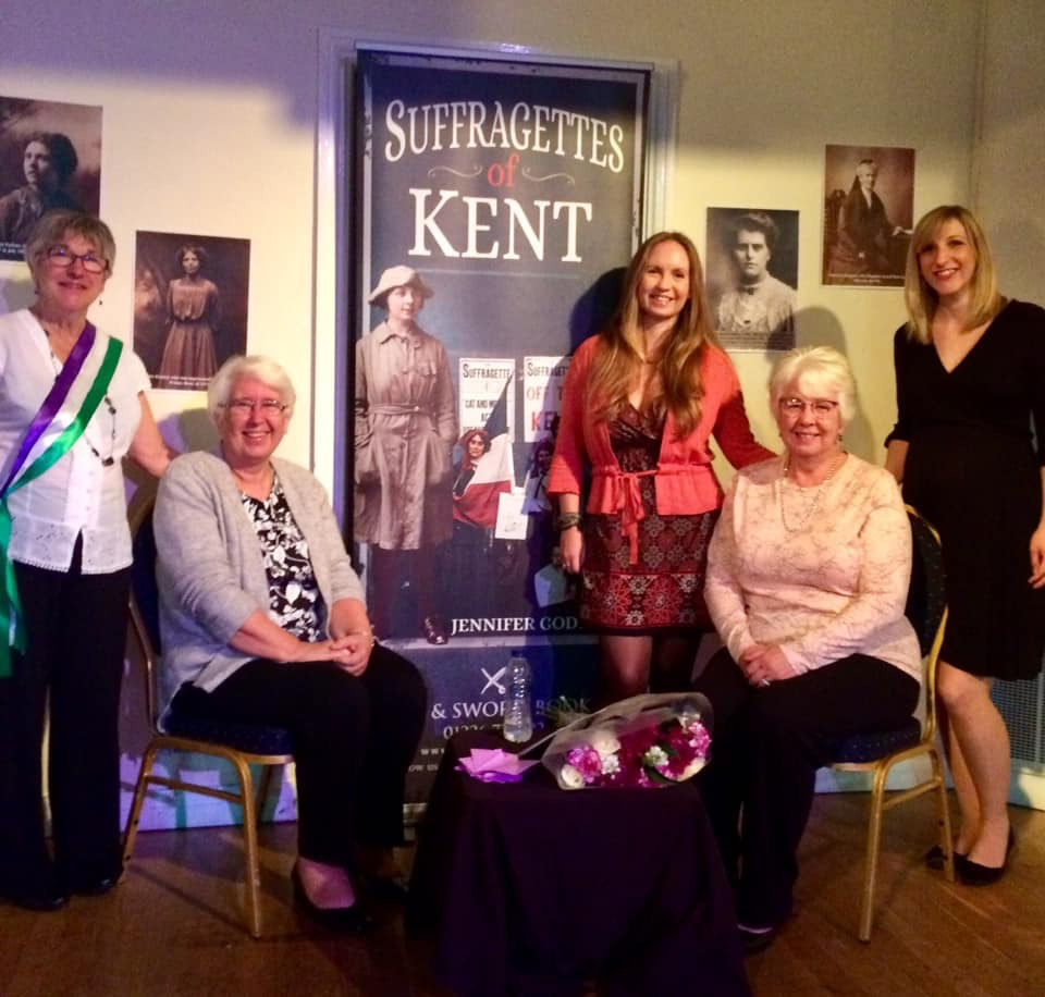 Ethel's descendants at book launch